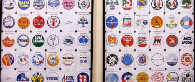 64 simboli sulla scheda delle europee: FdI al quarto posto, Forza Italia al 38mo