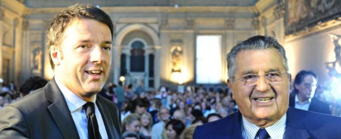 """Le infauste profezie del cavaliere """"rosso"""" De Benedetti: «Renzi è bravo, per il Colle vedrei bene Fassino…»"""