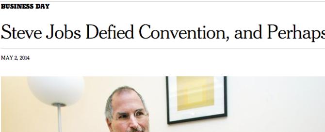"""Steve Jobs? Un genio. Ma secondo il New York Times """"se fosse vivo, oggi sarebbe in carcere…"""""""