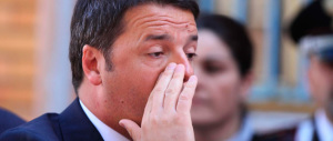 Svegliatevi, Renzi non cammina sulle acque. E diffidate della sua espressione angelica