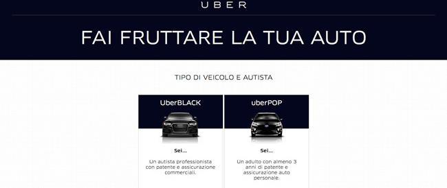 Maroni: la legge non consente l'utilizzo di Uber. Sul web migliaia di firme a sostegno dell'app