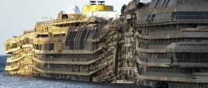 """Passa la linea """"italiana"""": la Concordia sarà smantellata a Genova, battuta la concorrenza turca"""