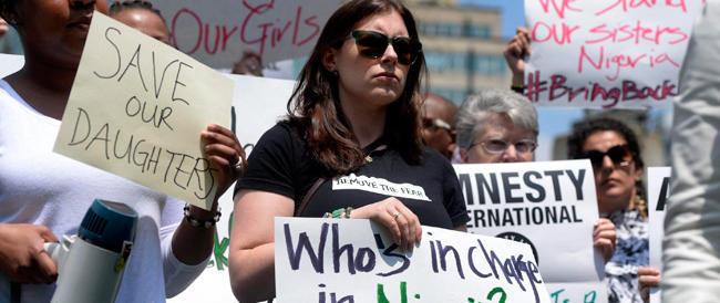 Festeggiamo le mamme con il pensiero rivolto al dramma delle liceali rapite in Nigeria