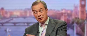 Un ciclone si abbatte sulla politica britannica: quello dell'euroscettico Nigel Farage (il suo partito è dato al 15%)