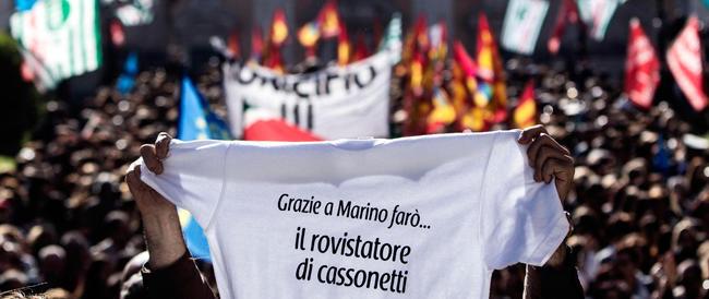 Voleva bloccare la città, Marino si ritrova Roma in sciopero. Contro di lui, in piazza il 19 maggio