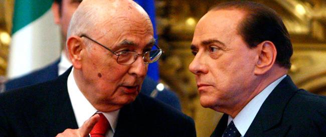 Golpe anti-Cav, Napolitano se ne lava le mani: non sapevo nulla. Forza Italia: sembra il marchese del grillo