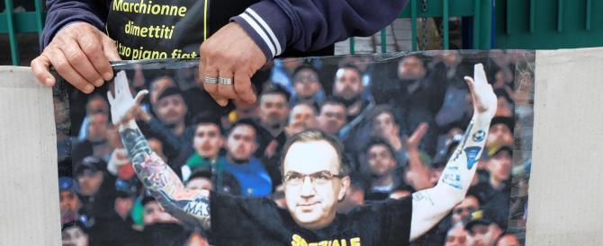 «Speziale libero, Marchionne dimettiti». La squallida provocazione dei cassintegrati Fiat di Pomigliano