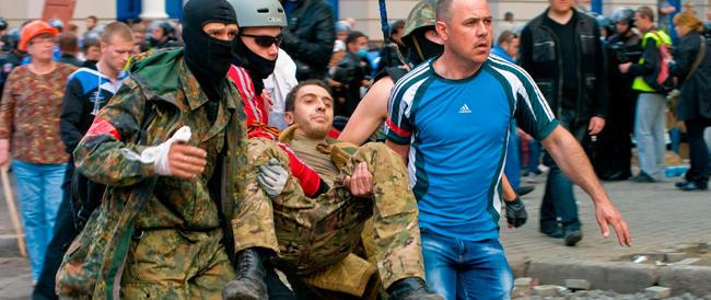 La crisi in Ucraina: asse Merkel-Obama contro Putin. Ban Ki-moon: fermare le violenze nel Sud-Est del Paese