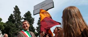 Inaugurato largo Berlinguer. Ora Roma deve onorare anche Giorgio Almirante. Capito, sindaco Marino?