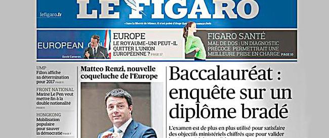 """Sviolinata de """"Le Figaro"""" a Renzi: così gli eurocrati si aggrappano a Matteo"""