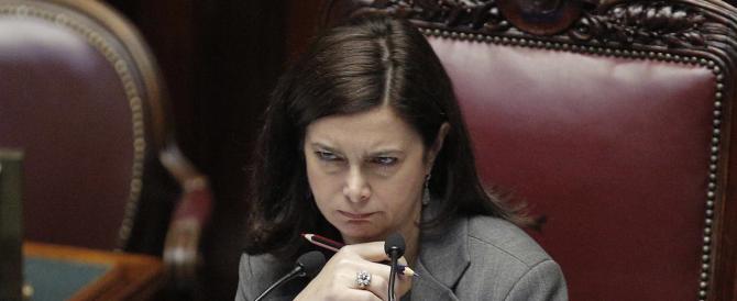 """La Boldrini chiede a Gad Lerner perché """"è antipatica"""", poi invoca il """"dentro tutti"""" per gli immigrati"""