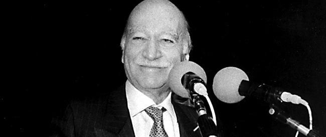 Cent'anni fa nasceva Giorgio Almirante. La grandezza umana e politica del leader storico del Msi