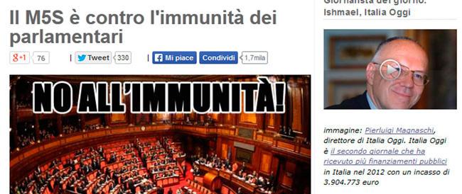 Niente comicità, insulti sessisti alla Boschi sul blog di Grillo