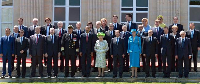 Lo sbarco in Normandia 70 anni dopo, ma per i grandi del pianeta il tema caldo è l'Ucraina