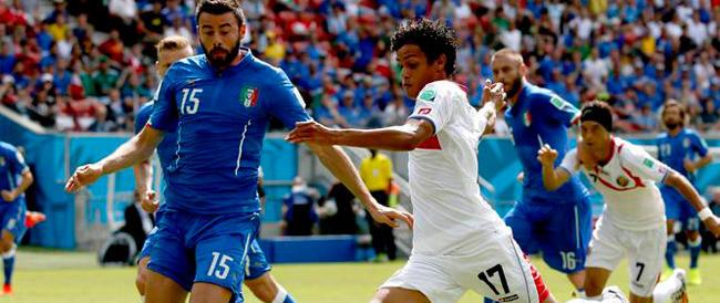 ***FLASH*** Passo falso dell'Italia, sconfitta per uno a zero. Costa Rica in festa