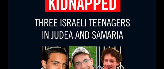 Ragazzi rapiti, pressione di Israele in Cisgiordania. Hamas: «Basta o partirà l'Intifada»