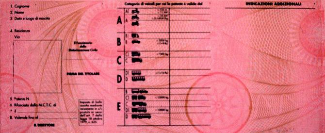 Patenti di guida: maxi evasione fiscale per certificati medici irregolari