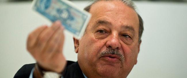 """La ricetta del """"Paperone"""" messicano Slim per l'occupazione: tre giorni di lavoro a settimana e in pensione tardissimo"""
