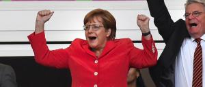 """Sorpresa, anche i tedeschi vedono il futuro nero. Nonostante l'ottimismo della """"woman in red"""""""
