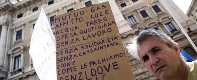 """""""Sos cassa integrazione"""", corteo a Roma contro il governo: in fondi sono finiti, le promesse ancora no"""