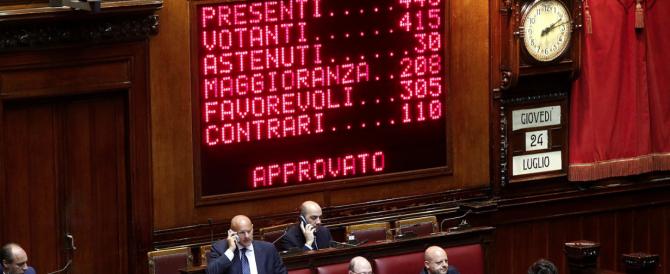 """Risarcimenti ai detenuti e sconti di pena, via libera della Camera. Il """"no"""" indignato"""" di Fratelli d'Italia"""