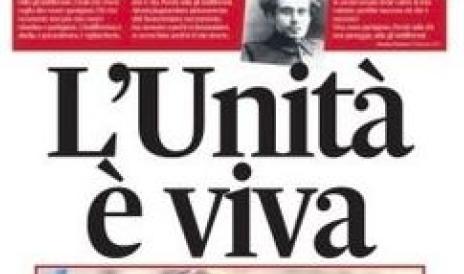 Ultimo giorno in edicola per l'Unità. La solidarietà del Cdr del Secolo