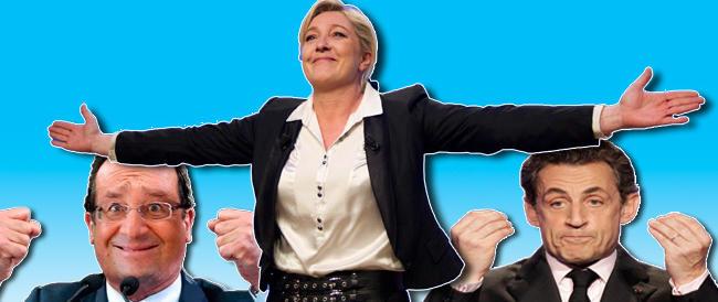 Sarkozy nei guai per i suoi cani, Hollande ridicolizzato nei fumetti.  E Marine Le Pen cresce…