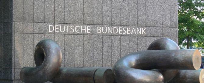 Flessibilità: la Bundesbank all'attacco del governo italiano, Palazzo Chigi replica a muso duro