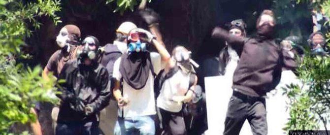 Ultras di sinistra tentano di impedire gli espropri delle aree per l'Alta velocità nell'Alessandrino