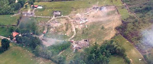 Tagliacozzo, esplode la fabbrica dei fuochi d'artificio: tre le probabili vittime, c'è anche un disperso