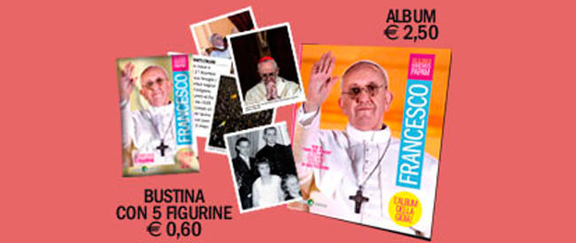 """Il Papa """"diventa"""" un gelato, un hamburger, una figurina alla Del Piero (e i furbetti guadagnano)"""