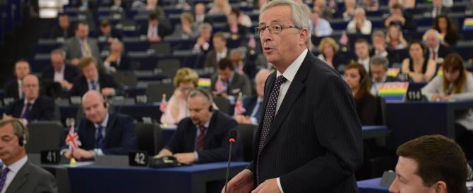 Dopo Draghi anche Juncker boccia Renzi sulla flessibilità. E in Italia è di nuovo allarme-inflazione