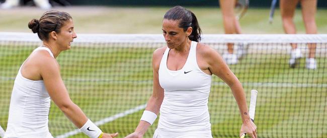 Il trionfo di Errani e Vinci a Wimbledon, una lezione per gli orfani di Balotelli & company