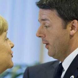 La satira sul web colpisce gli amici delle banche: la Merkel e Renzi. Ce n'è anche per la Gruber