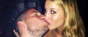 Dalla moglie (belga) di un calciatore del Napoli un ceffone al sindaco De Magistris