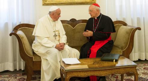 Il cardinal Filoni, inviato del Papa in Iraq: l'Isis non nasce dal nulla, vi sono stati errori su errori
