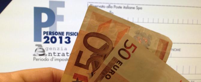 L'80% degli italiani si aspetta a breve scadenza una nuova ondata di tasse