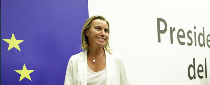 """""""Fuori una"""": Renzi piazza la Mogherini sulla (inutile) poltrona di ministro degli Esteri europeo"""