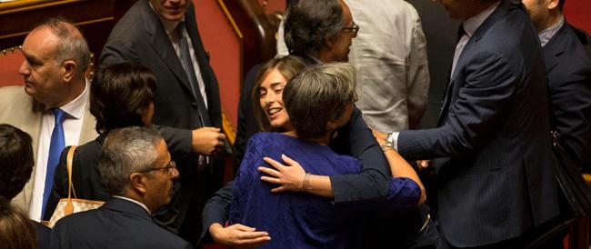 Hanno poco da abbracciarsi. Rampelli: «È una riforma transgender». Salvini: «Una cazzata»