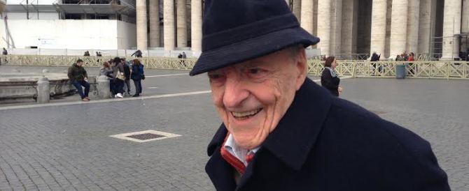 E' morto il giornalista Emilio Cavaterra, fu anche firma del Secolo