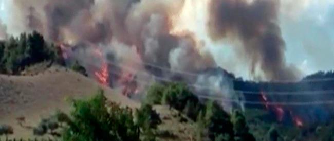 Inferno nel cielo di Ascoli: due jet si scontrano in volo durante l'addestramento