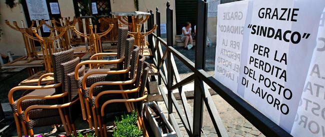"""È ancora battaglia sui tavolini in piazza Navona. Ora i gestori presentano un nuovo ricorso contro i """"tagli"""""""