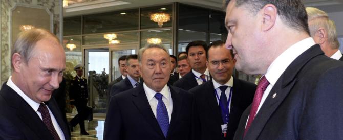 """Accordo per il """"cessate il fuoco"""" tra Russia e Ucraina, festeggiano le Borse. I """"ribelli"""" temono un bluff"""