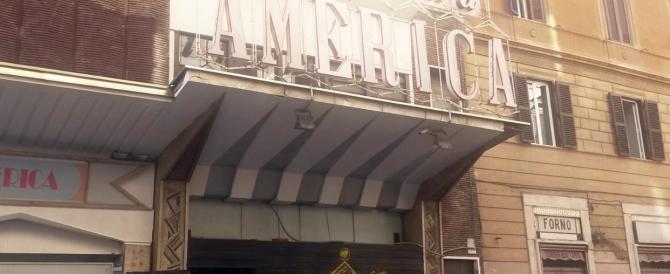 Sgomberato il Cinema America: proiettava più Totti che Fellini, ma la sinistra grida al golpe…