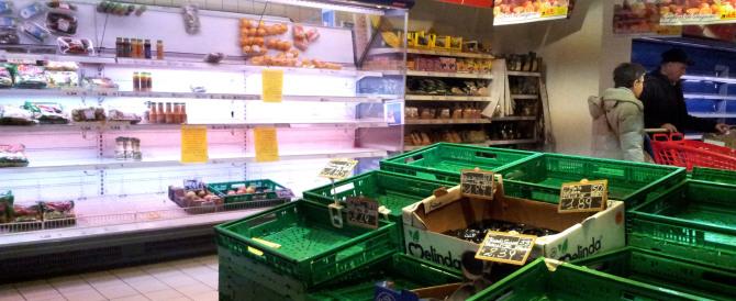 Dalle nocciole turche al pesce spagnolo: un dossier sul cibo estero a rischio