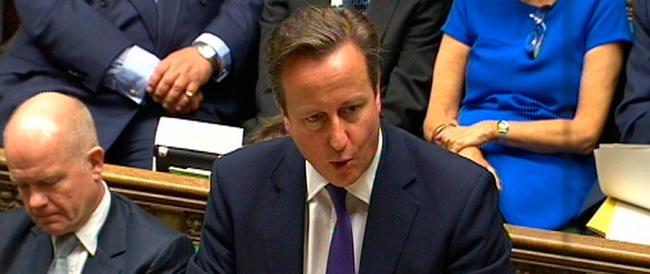 Cameron annuncia l'avvio dei raid aerei in Iraq