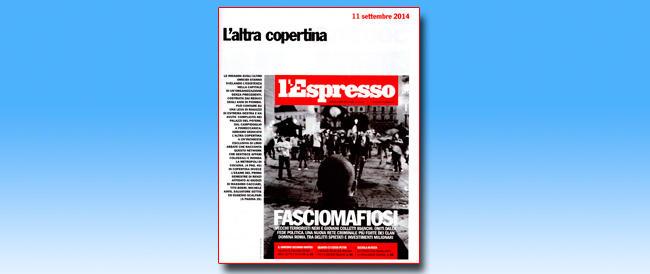 """Roma è allo sfascio? Colpa dei """"fasciomafiosi"""", non di Marino. Così dice l'Espresso"""