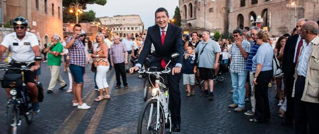 Che cosa ha fatto Marino per Roma? Niente, tranne inaugurare le opere di Alemanno