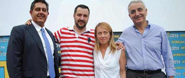 «Non moriremo renziani»: ad Atreju prove tecniche di coalizione per far rinascere il centrodestra