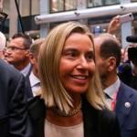 """""""Ma quale Putin!"""": al suo debutto in Europa la Mogherini rinnega Mosca e annuncia sanzioni"""
